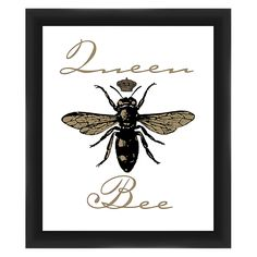9855d8c095826 PTM Images Queen Bee Framed Wall Art