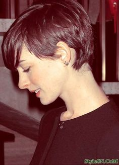 Short Pixie Cut with Long Bangs 2014 | StyleSN