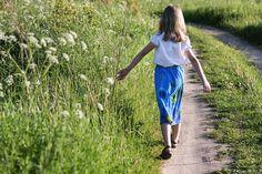 Spódnica ManuEla - trapez. #kids #fashion #skirts #flowers #manushop #Wasiuczyńska #ManuEla