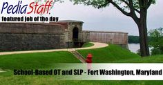 Hot Jobs! School-Based OT and SLPs – Fort Washington, Maryland
