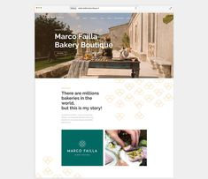 Marco Failla, Bakery Boutique brand identity & Sito Web - Pandemia Web Agency This Is My Story, Boutique, Brand Identity, Sun Lounger, Bakery, World, Outdoor Decor, Chaise Longue, The World
