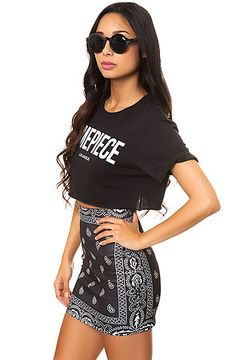 O-Mighty The Bandana Skirt in Black