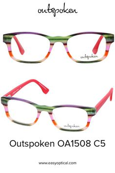 OUTSPOKEN OA1508 C5 Eyewear, Easy, Men, Style, Swag, Eyeglasses, Stylus, General Eyewear, Sunglasses