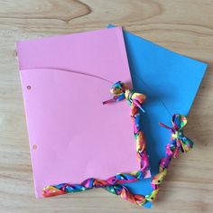 Easy DIY Folder Dividers - Back to school? Need to organise your work? Jazz up your folder with these quick and easy to make folder dividers! - H