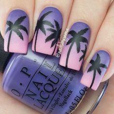 #Pretty #Palmtree #Ombre