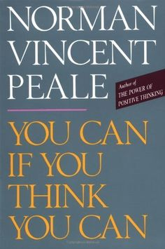 Have always loved reading Norman Vincent Peale books - This book is no exception! This book helps you to start thinking in a more positive manner. Books You Should Read, Great Books To Read, Used Books, Motivational Books, Inspirational Books, Up Book, Book Club Books, Book Nerd, Reading Lists