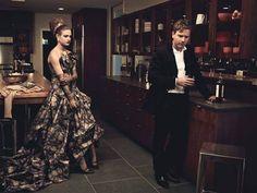 Natalia Vodianova & Ewan McGregor by Peter Lindbergh : theBERRY