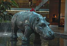 Hippo Statue Denver