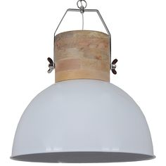 Daveney Inverted Pendant Norden Home Shade Colour: Shiny White, Size: H x W x D Led Lamp, Tree Branches, Art Pieces, Sweet Home, Shades, Ceiling Lights, Lighting, Pendant, Color