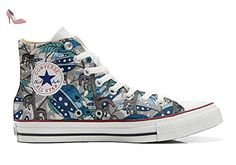 Converse All Star Original, CUSTOMIZED with printed Italian style (custom  shoes) Horse Feathers size 45 EU