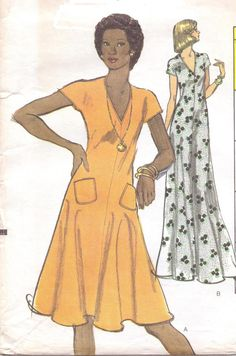 1970s Very Easy Vogue Sewing Pattern 8848 Womens by CloesCloset, $12.00