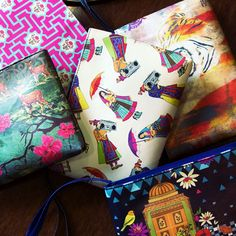 These #Utility_Pouches are #pretty and #classy available #IndiaCircus by #KrsnaMehta