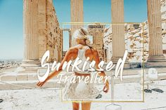 Sunkissed Traveller Lightroom Preset Collection | Travel Tanned Blogger | Sun Kissed Vacation Presets | Golden Creamy | Beach