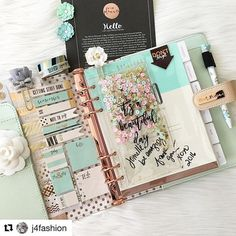 with ・・・ My Frank Garcia Planner signed by the one and only at the Thank youI get to have this beauty! Prima Planner, Planner Pages, Planner Stickers, Prima Marketing, Cute Planner, Happy Planner, Digital Bullet Journal, Cute Stationery, Stationary