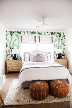 One Room Challenge Tween Queen Bedroom & Bath {THE REVEAL!!}