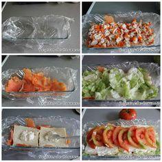 Pastel salado de pan de molde y ensaladilla (3 versiones)