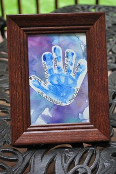 Father's Day Craft 2012..... ***** Super cute idea!!! Trying it this year. 2013