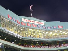 This is on my bucket list- to go to Fenway Park and watch the Red Sox