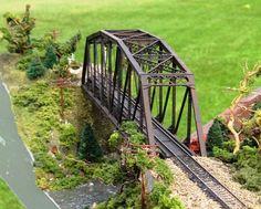 N scale Scratch Built Bridge