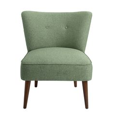 HomePop Chadwick Armless Accent Chair - Teal