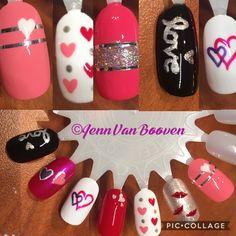 Valentine's Day nail art!