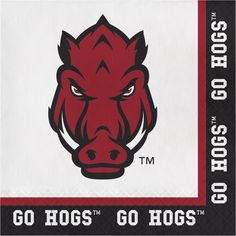 Univ of Arkansas Lunch Napkins/Case of 240 Tags: University of Arkansas; Lunch Napkins; Collegiate; University of Arkansas Lunch Napkins;University of Arkansas party tableware; https://www.ktsupply.com/products/32786326239/Univ-of-Arkansas-Lunch-NapkinsCase-of-240.html