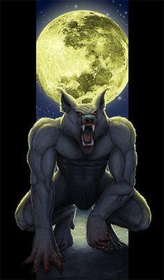 Werewolf by Luneder on deviantART
