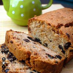 كعكة الزبيب والتمر الحامضة | Dates & Raisins Sourdough Cake