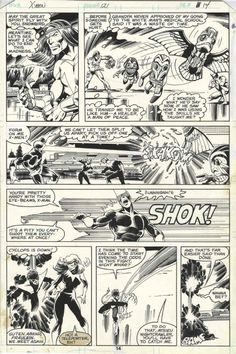 Uncanny X-Men #121, page 14 by John Byrne & Terry Austin. 1979.