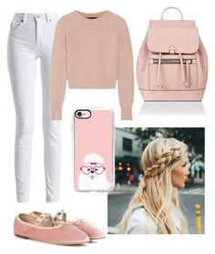 """beige n soft pink ishh👏🏻"" by alda-naura ❤ liked on Polyvore featuring Valentino, Barbour International, The Elder Statesman, Accessorize, Casetify, GetTheLook, polyvorecommunity, polyvoreeditorial, polyvorefashion and polyvoreset"