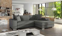 Dieses Eckofa ist ideal für das #Wohnzimmer, verbindet höchste Qualitätsansprüche mit einzigartigem #Design. Verschiedene #Farbkombination ermöglicht die perfekte #Anpassung für jeden #Raum.  #sofa #ecksofa