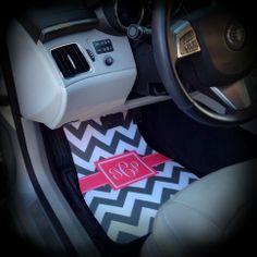 Car Mats Monogrammed / Personalized Car Mats from SassySouthernGals Boutique
