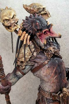dark skinned predator yautja