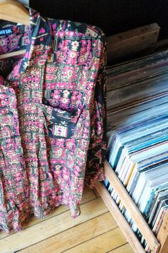 Awesome Ethnic Patterned 80's Shirt by AfterlifeOddities on Etsy, $12.00