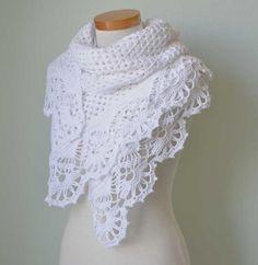 Victoria scarf shawl