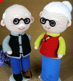 crocheted gifts for grandparents ☆