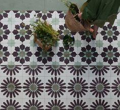 Emery & cie - Shop Windows - 2012 Automn - Cement Tile Patterns - Classics Revisited