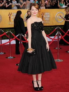 Emma Stone The Amazing Spider-Man  SAG Awards 2012: Red Carpet Arrivals  My No 1 Pick