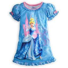 Disney Princess Cinderella Nightgown Pajamas