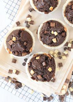 triple chocolate muffins - Laura's Bakery