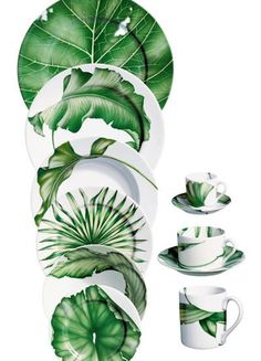 Ideas Kitchen Green White Plants For 2019 Pottery Painting, Ceramic Painting, Ceramic Art, Green Kitchen, Kitchen Plants, Kitchen White, White Plants, China Painting, China Patterns