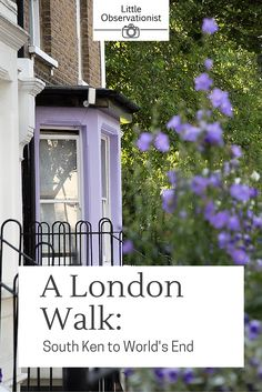 There's not much better than an unhurried stroll through London. Come along on a photo walk to World's End, from South Kensington, via the River Thames. Photo Walk, Interesting Stories, Little Black Books, River Thames, End Of The World, Color Photography, Walking, London, Walks