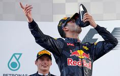 After unexpectedly winning the Malaysian Grand Prix, Daniel Ricciardo suggested that superstition could've played a part in the victory, as it may have in his own loss at the Monaco GP.