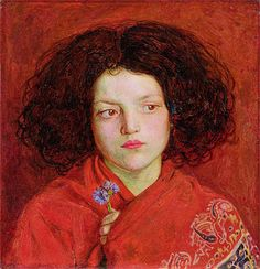 Title: The Irish Girl, 1860  Artist: Ford Madox Brown  Location: Yale Center for British Art Connecticut USA