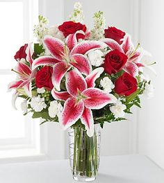 Lilies and roses and carnations