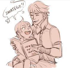 OMG I'M DYING OF CUTENESS OVERLOAD!!!! Also that book XD