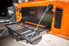 Springtail MPAC Jeep Rear Door Folding Tray