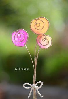 Fée de papier - Fleurs