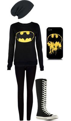 Batman outfit!:3