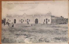 MISURATA palazzina deposito della sussistenza militare VIAGGIATA 1912 cartolina